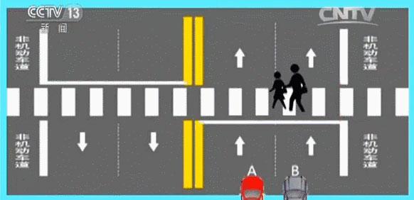 央视解说—遇到斑马线车到底该怎么开? 【呈贡中山驾校】(图5)
