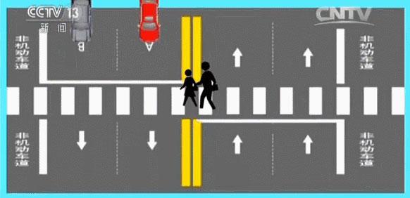 央视解说—遇到斑马线车到底该怎么开? 【呈贡中山驾校】(图6)